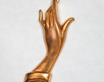 72mm Copper Elegant Hand #2161