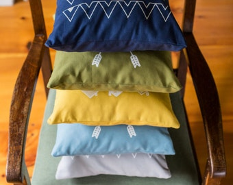 Camp Screenprinted Pillow