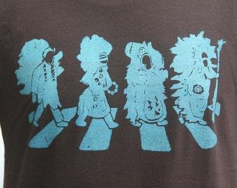 Abbey Road / Mardi Gras Indians - Unisex T-Shirt
