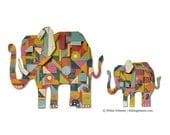 Tusk tusk Elephant Decor