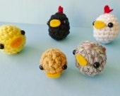tiny chickens