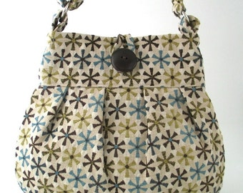 fabric tote bag, shoulder bag, crossbody tote bag ,large handbag, shoulder tote , messenger bag, diaper bag , tote purse, ready to ship