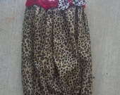 Baby girl coming home outfit, newborn layette gown, newborn pictures, newborn girl take me home outfit, layette, leopard-baby girl clothes