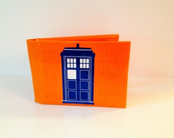 Tardis Duct Tape Wallet - by jDUCT
