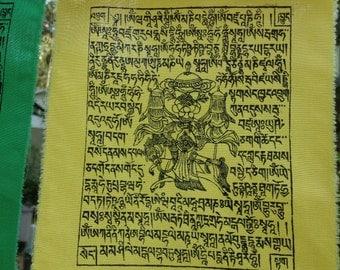 Tibetan Prayer Flags - string of 25 Windhorse flags