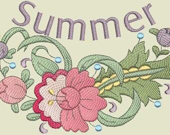 Splendor of Spring Embroidery Designs