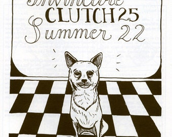 Invincible Summer 22/ Clutch 25 Diary Comic Split