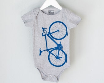 VITAL BICYCLE 3-6 months Infant Heather One Piece Lapis BLUE