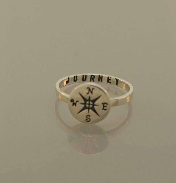 The Original  Custom Compass Journey Ring, Sale