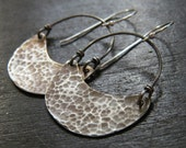 Small Crescent Earrings