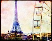 Paris Decor, Paris Photography, Eiffel Tower Photo Eiffel Tower Photography, Pink Paris, Pastel Eiffel Tower Art, Gift Idea