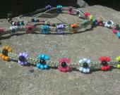 flower power hemp head band