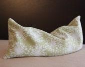 HALF PRICE Lavender Eye Pillow Cotton Fabric Soft Green Dandelion