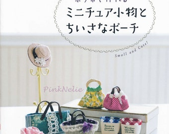 Miniature Bags and goods n36755  - Japanese Craft Book