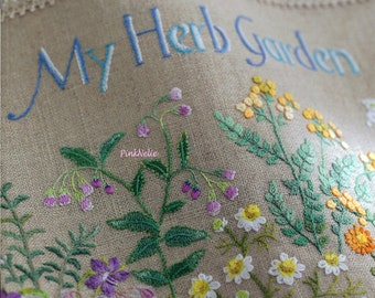 Herb Embroidery on Linen vol3 - Japanese Craft Book