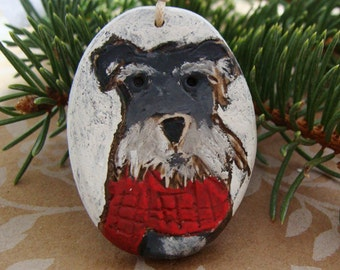 Schnauzer Dog Ornament