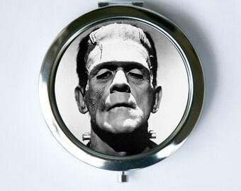 Frankenstein Compact MIRROR Pocket Mirror gothic psychobilly horror movie punk vintage