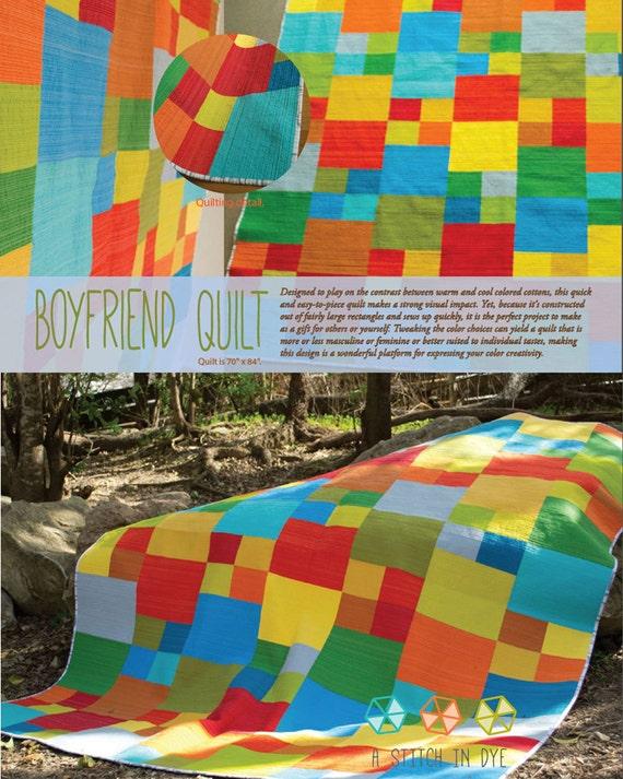 Boyfriend Quilt Sewing Pattern
