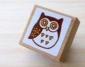 Nordic stamp - Lovely owl - Small size