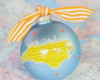 State of North Carolina Ornament