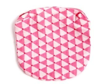 Pink geometric kids coin purse