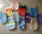 Crocheted Soap Savers Holders One Hundred Percent Cotton
