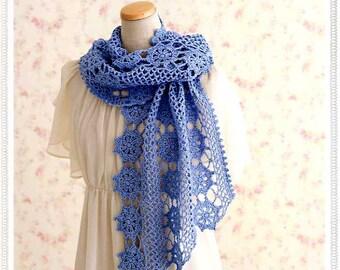 Crochet Shawls & Stoles 30 - Japanese Crochet Book