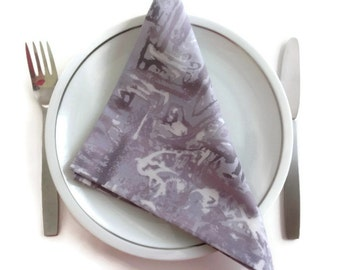 Dinner Napkins Eco Friendly 100% Cotton Fabric Dinner Napkins Dinner Napkins - set of 6