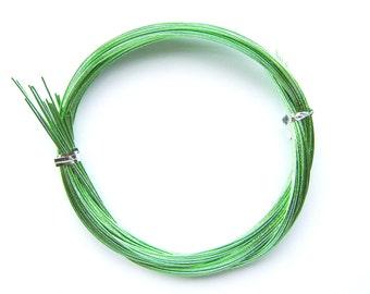 Mizuhiki Japanese Decorative Paper Strings Cords METALLIC Light Green