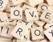 Scrabble Letter Tiles. Scrabble Pendant Supplies. New. Never Used. 100 Pack.