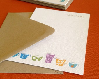 Design 08- Personalized Stationery, set of 8