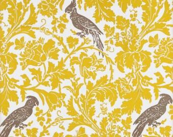 yellow gray fabric barber sunny gray fabric birds fabric birds remnant
