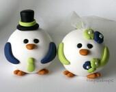 Bird Wedding Cake Topper Custom