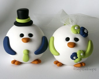 Bird Wedding Cake Topper Custom