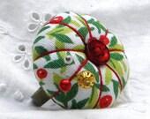 Vintage Berries Pincushion Ring