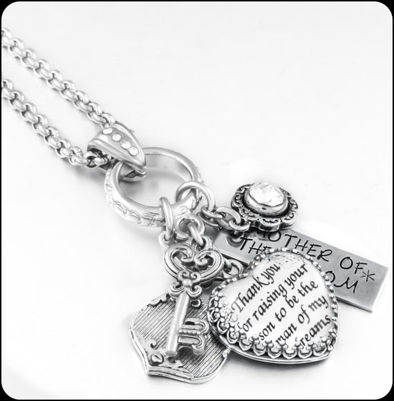 Mother Of The Bride Jewelry: Mother Of The Groom Necklace Bridal Necklace By
