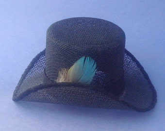 Tiny top hat for a doll
