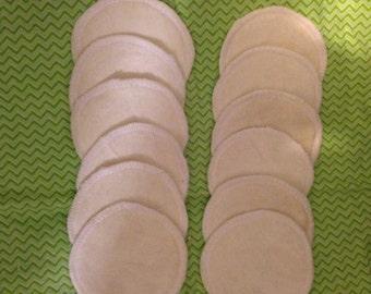 Bamboo nursing pads