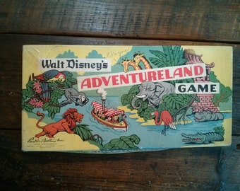 Walt Disney's Adventureland Board Game by Parker Brothers
