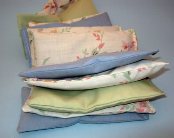 Natural Handmade Lavender Dryer Sachets Set of Two