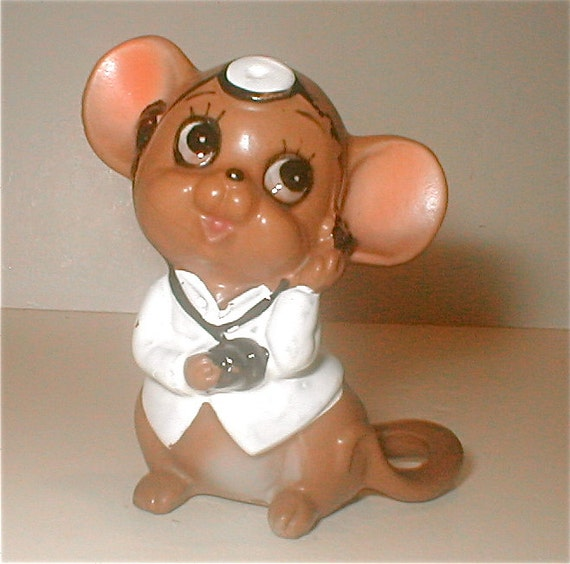 Calling doctor mouse josef originals vintage 70s collectible tiny