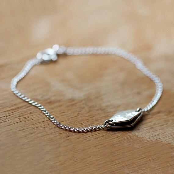 les diamants - silver pendant bracelet by elephantine