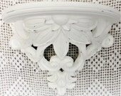 Large Wall Shelf, Hand Painted Lace Chalk Paint with Distress, Shabby, CSSTeam, ECS