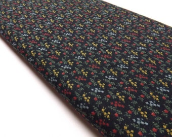 Wildflower Serenade II 9256 18 Kansas Troubles Quilters Black Floral Country Style Quilting and Sewing Fabrics