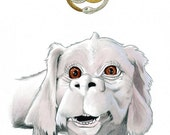 Falcor The Luck Dragon Limited Edition Art Print by Ryan Berkley