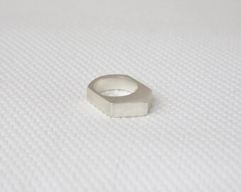 ENOUGH / Sterling silver ring