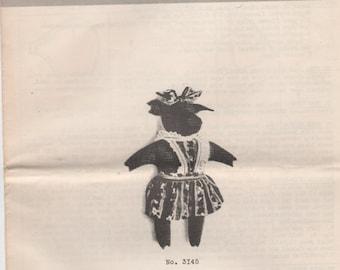 Vintage Zazu the Cow Sewing Pattern Vintage Woman's Home Companion Mail Order Pattern UNCUT