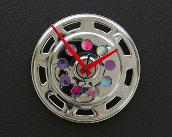 Recycled Bike Gear Guard Clock