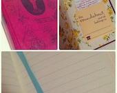 CUSTOM ORDER - Lined Journal for Anthony
