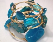 Tangled in Blue Two Set